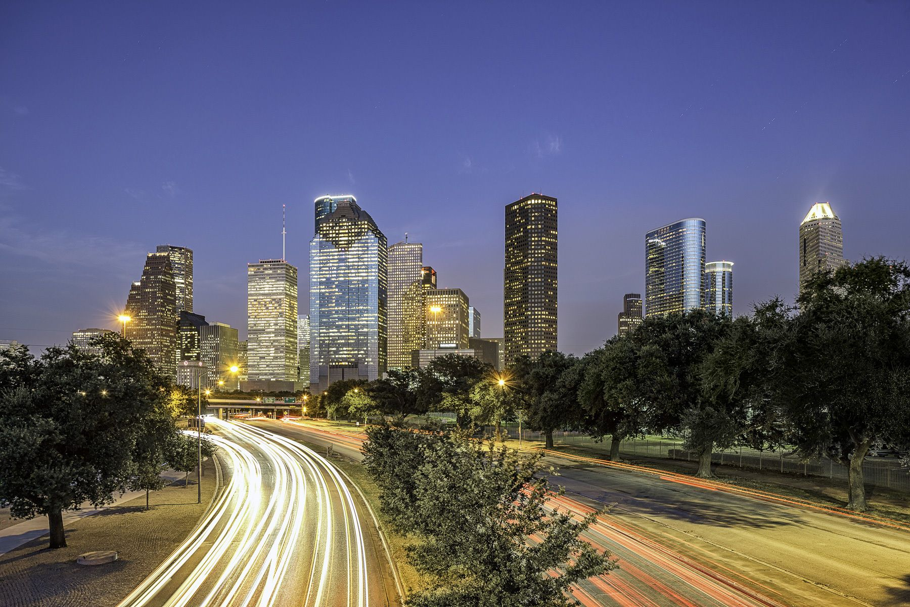 Mabry Campbell Photography Blog Houston Skyline Downtown Houston Skyline Image