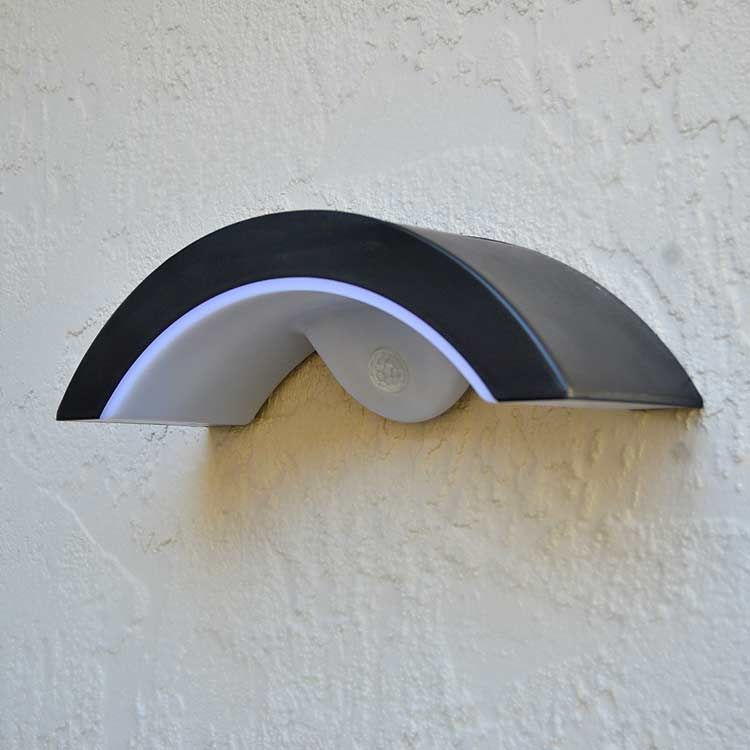 Wall Mount Solar Lights For Entrances By Free Light 14