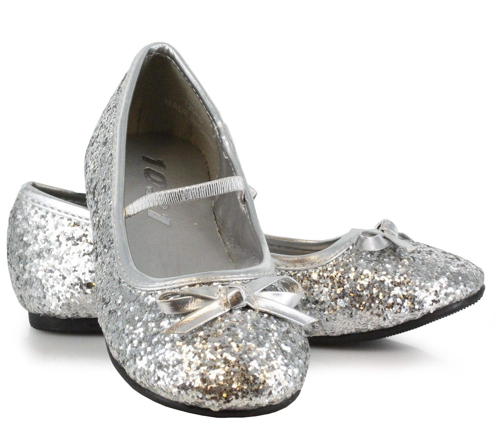 Sparkle Ballerina Silver Child Shoes