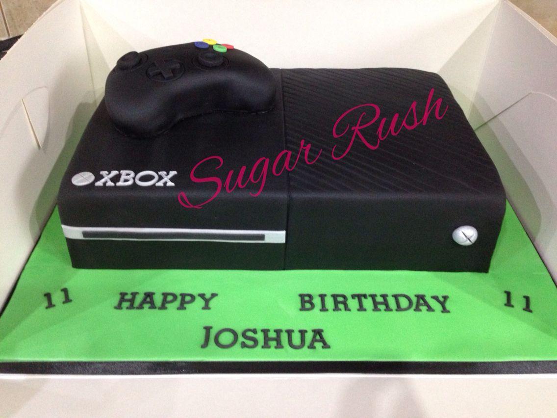 Xbox One Cake Cake Decorating Ideas Pinterest Xbox One Cake
