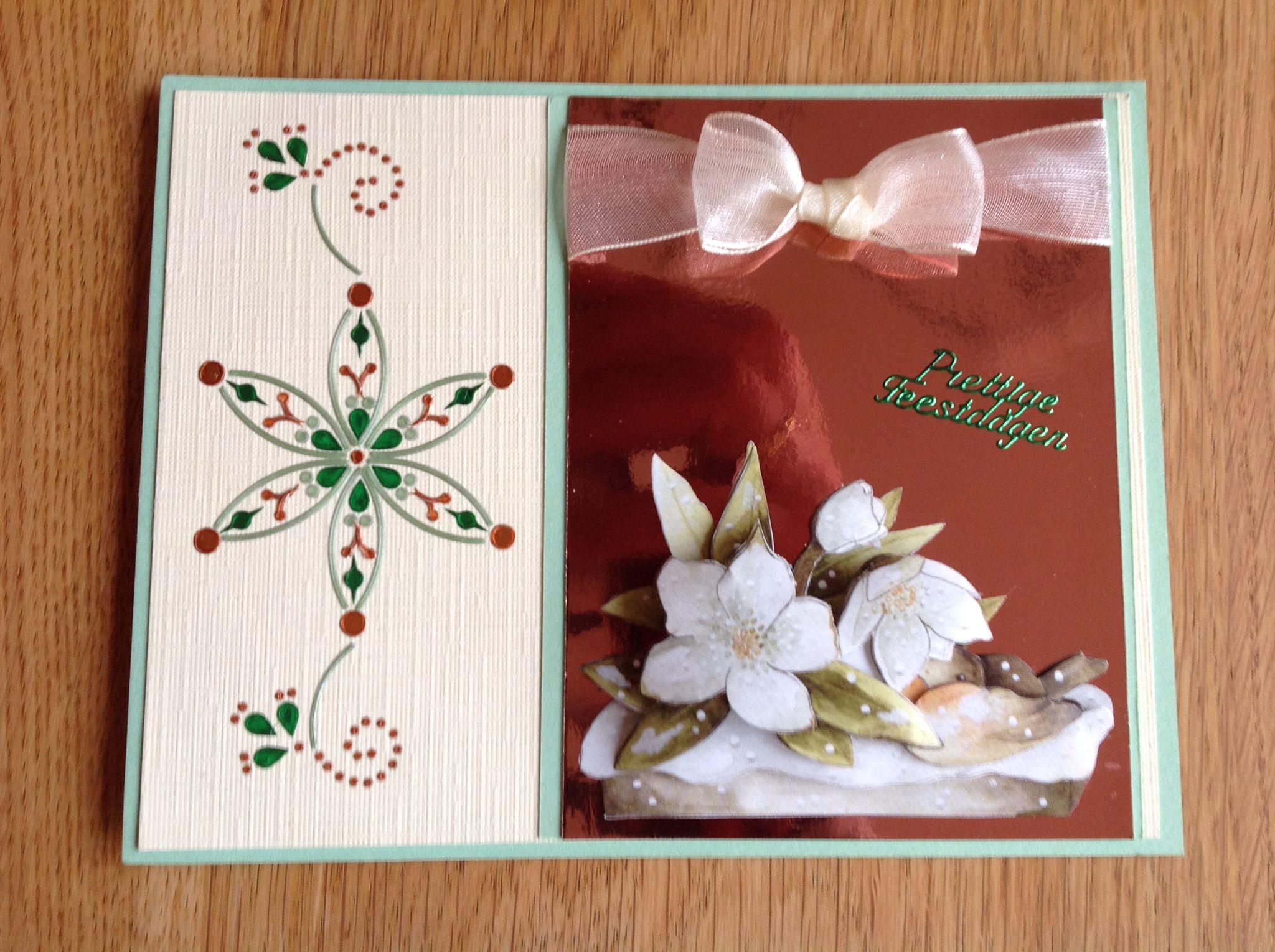 3D & Dots&Do Christmas card - 3D & Dots&Do kerstkaart