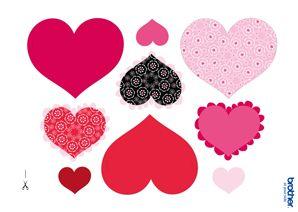 Printable Valentine's Day Decorations & Supplies | Free ... Free Printable Valentine's Day Decorations