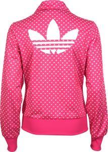 chaqueta de adidas rosa