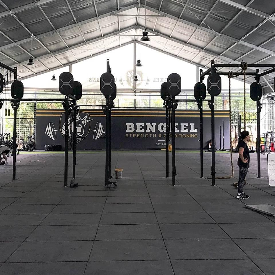 Neoflex Premium Gym Tiles At Bengkelsnc Indonesia S Largest Functional Fitness Community Courtesy Of The Team At Primafitindonesia Im Gym Image Indonesia