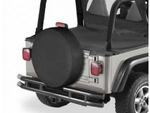 Bestop Spare Tire Covers In Black Denim At Quadratec My Go To