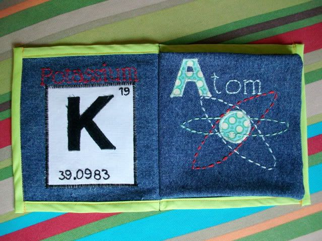 cool science themed name book