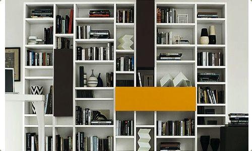 Pareti attrezzate design cartongesso cerca con google for Librerie di design a parete