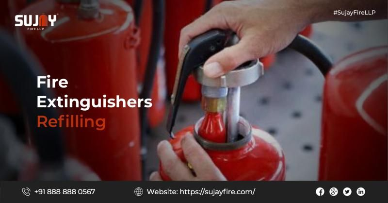 Fire Extinguishers Refilling Fire Extinguishers Extinguisher Portable Fire Extinguisher