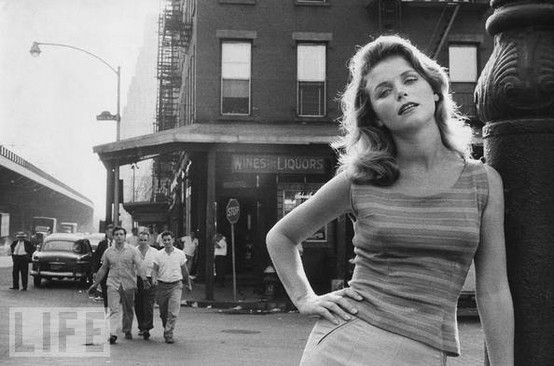 In what looks like a photo shoot for Life magazine, Lee Remick on ...
