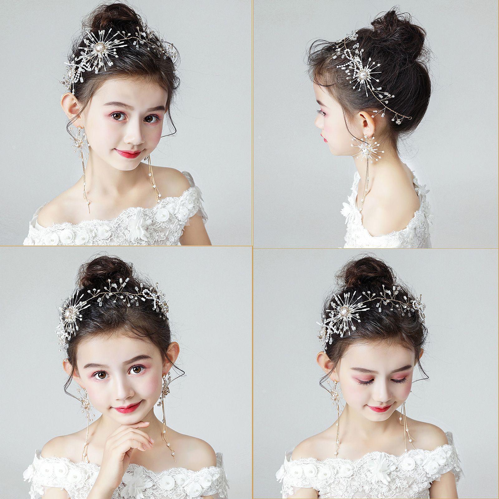 ヘッドドレス 花冠 パーティー 女の子 髪飾り 子供 ドレス