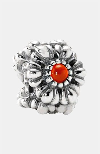 Discount Pandora Birthday Bloom July With Carnelian Charm