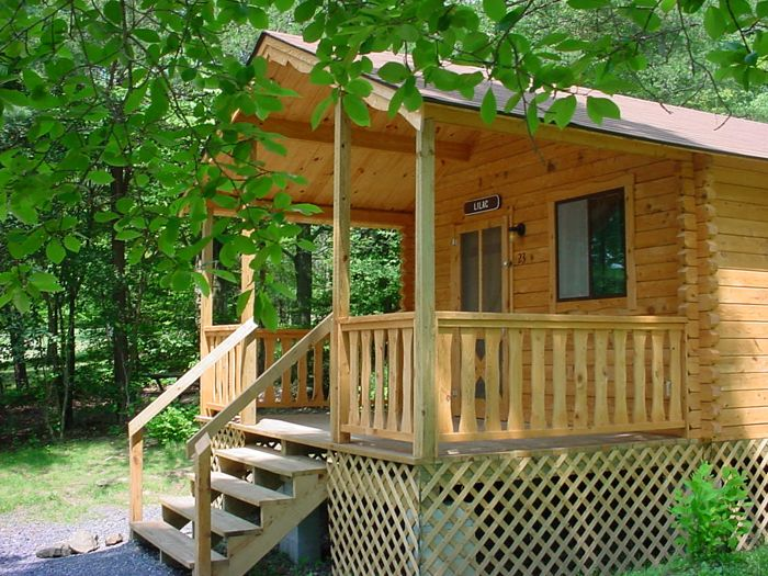 Pine Log Cabins for Rent in PA on Raystown Lake