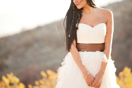 Pocahontas Disney Wedding Dresses