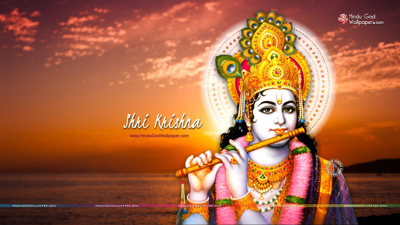 Hd wallpaper lord krishna - Shri Krishna Wallpapers Hd
