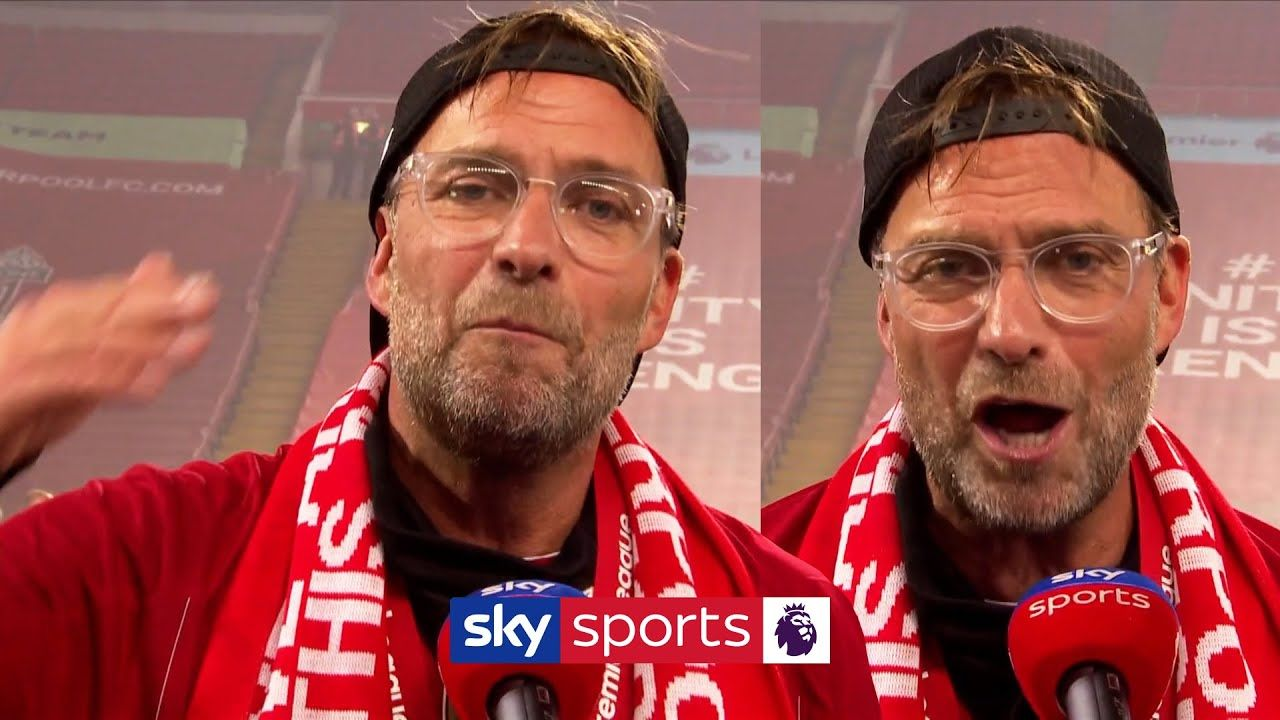 Jurgen Klopp gives passionate mustwatch interview after