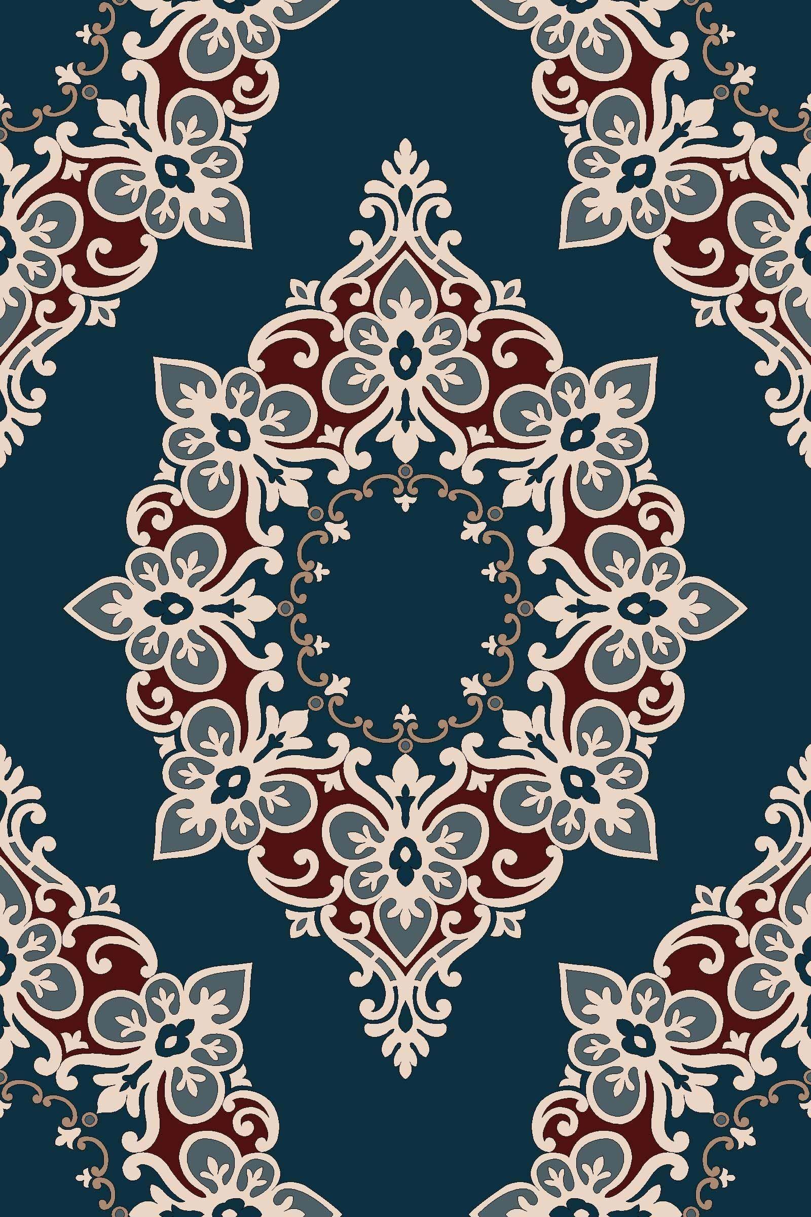 Background Batik Islami : background, batik, islami, Motif, Batik, Modern, Pola,, Damask, Stencil,