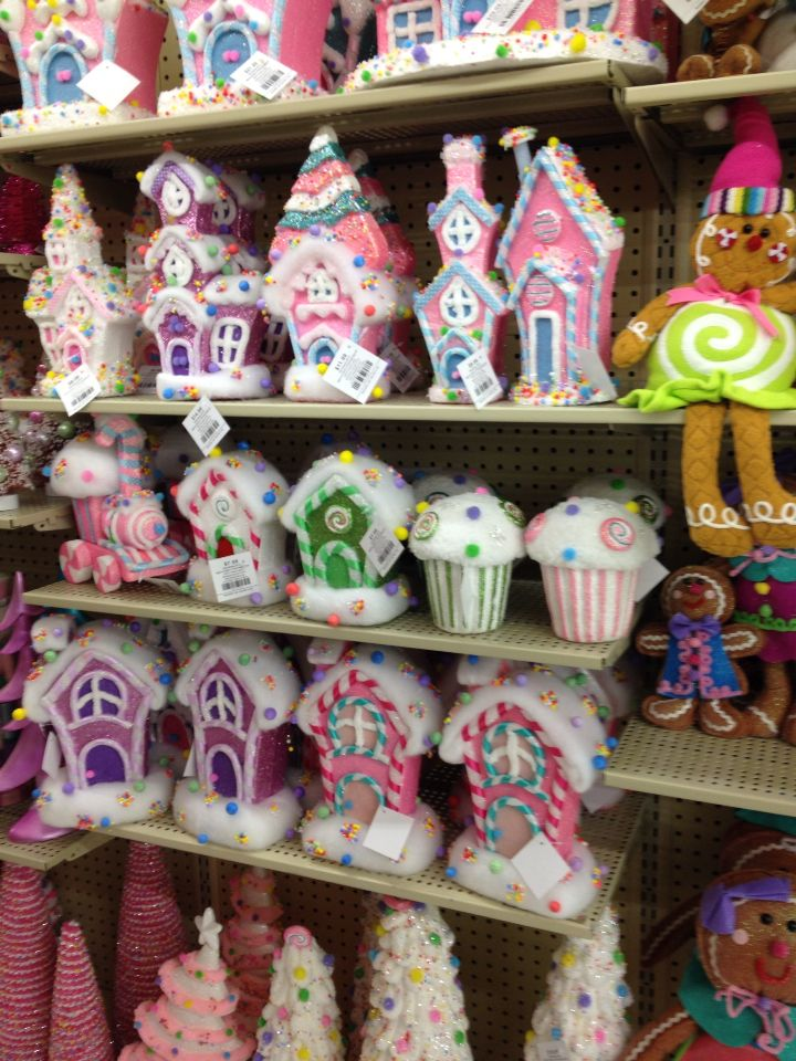 christmas decorations to make hobby lobby candy houses found in winter maybe we can find onetwo pieces - Candy Christmas Decorations Hobby Lobby