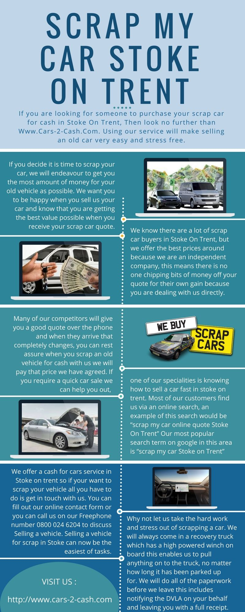 If you are looking for someone to purchase your scrap car for cash ...