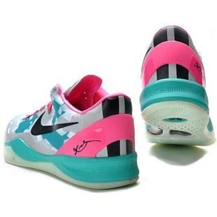 meet 3aeaa fd068 www.asneakers4u.com  Nike Zoom Kobe 8 VIII Elite Lifestyle Gray Jade Pink