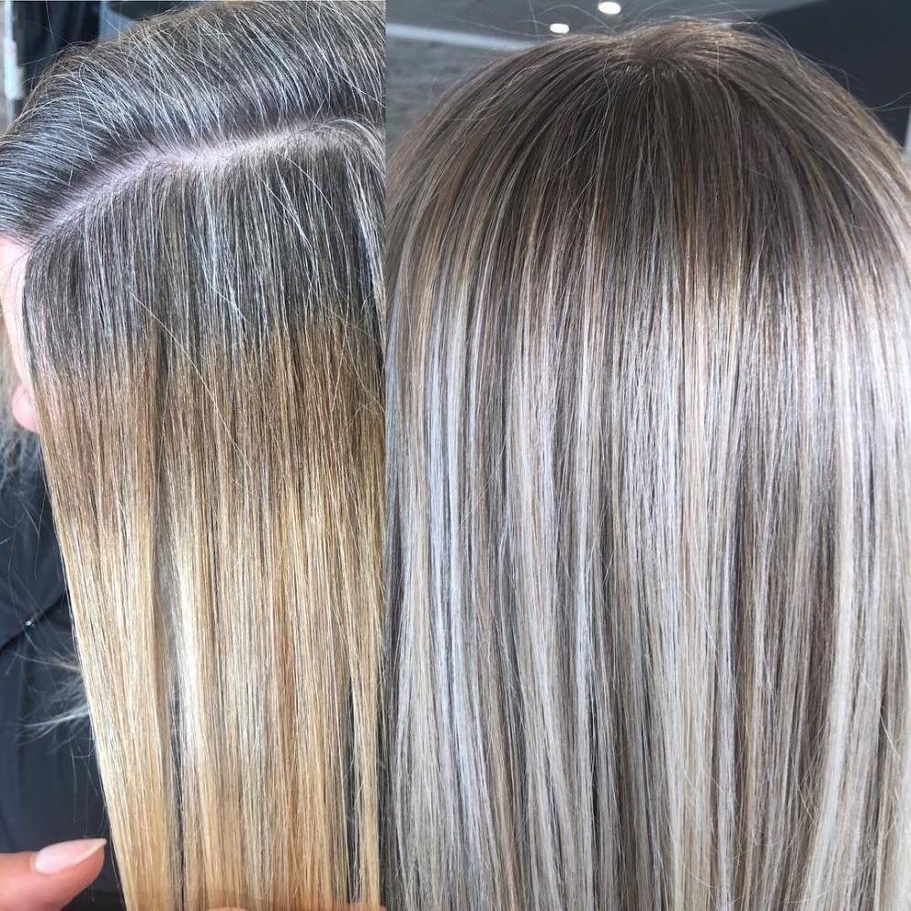 5 Ways of Blending Gray Hair Without Regular Root