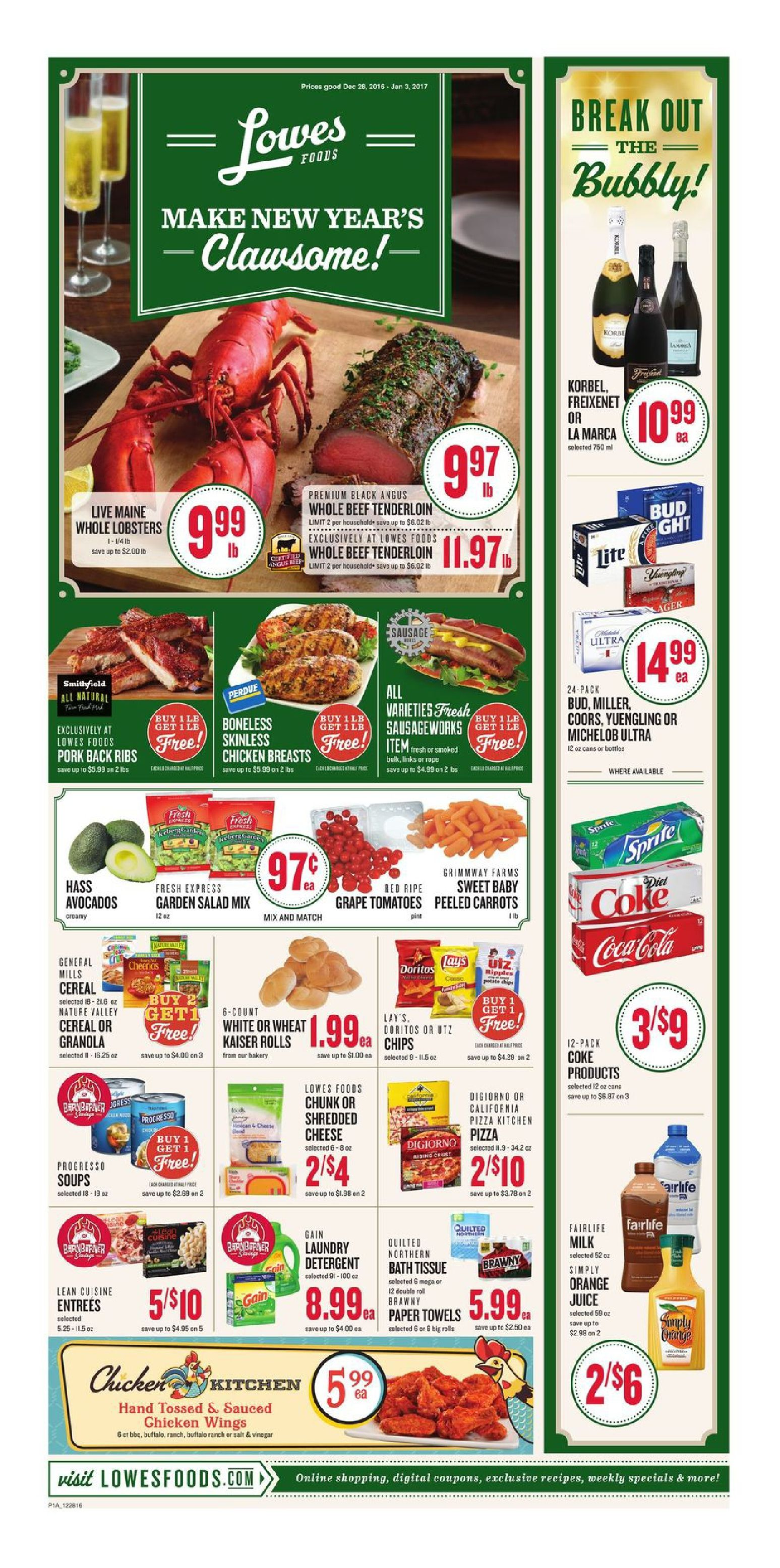 Grocery Ad Worksheet
