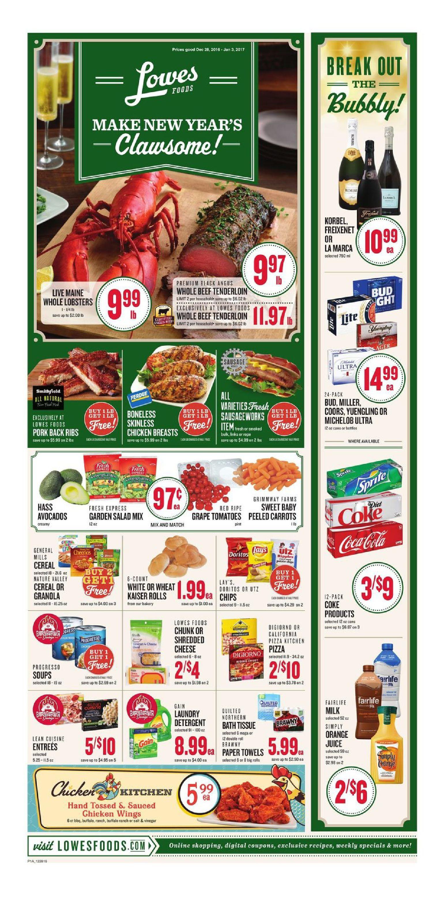 Lowes Weekly Ad December 28