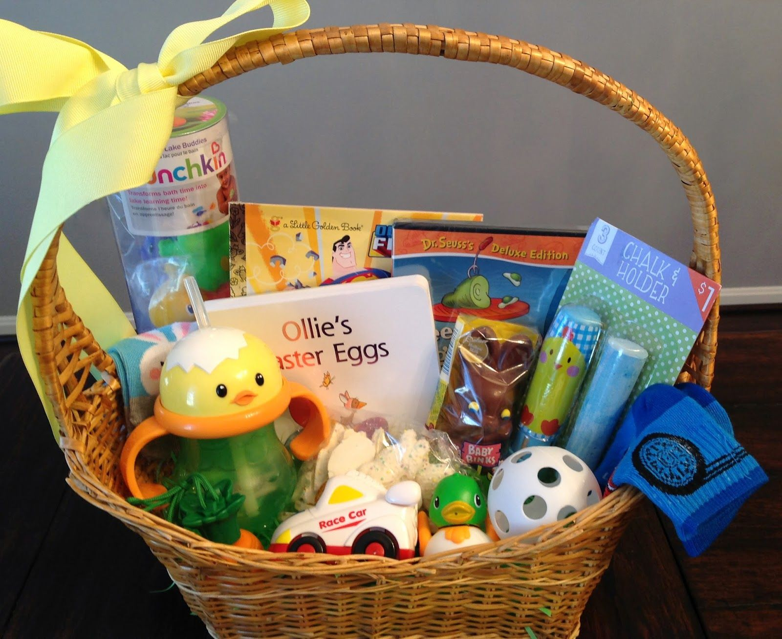 Hand Me Down Mom Genes: 95 Easter Basket Ideas For Babies U0026 Toddlers