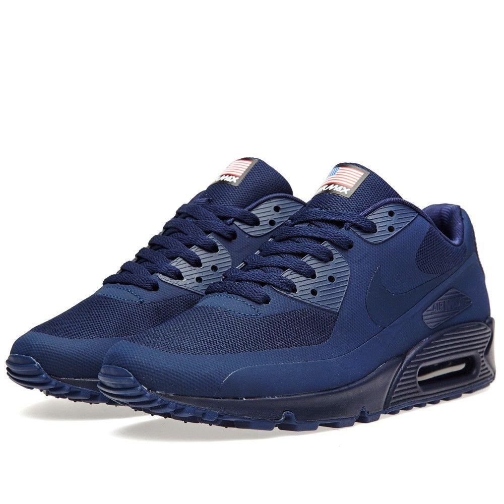 buy online c11d5 b834e Nike Air Max 90 HYP QS  Independence Day  (Midnight Navy)