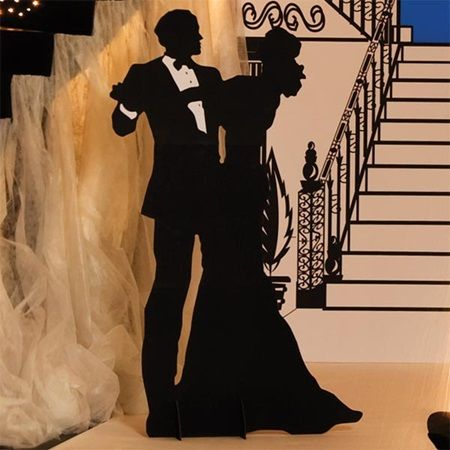 Ballroom Couple Silhouette Kit