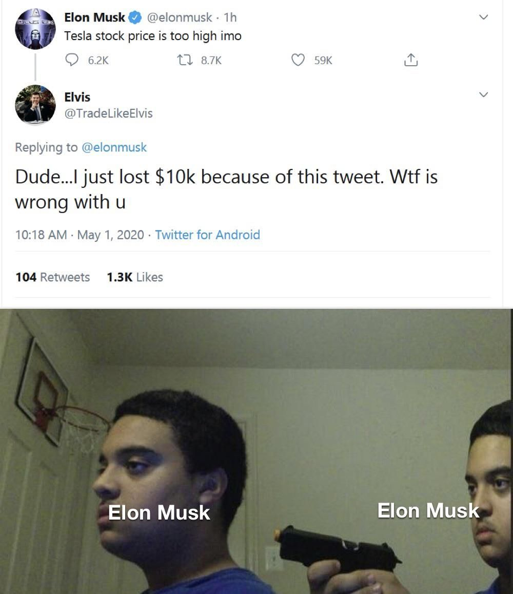 Elon Musk Baka Twitter Funny Dark Humour Memes Videos Funny