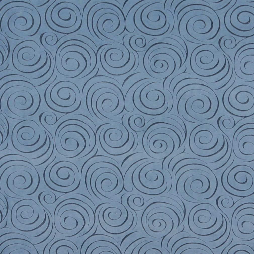 Grey textured grid microfiber stain resistant upholstery fabric by the - D824 Blue Abstract Swirl Microfiber Upholstery Fabric By The Yard