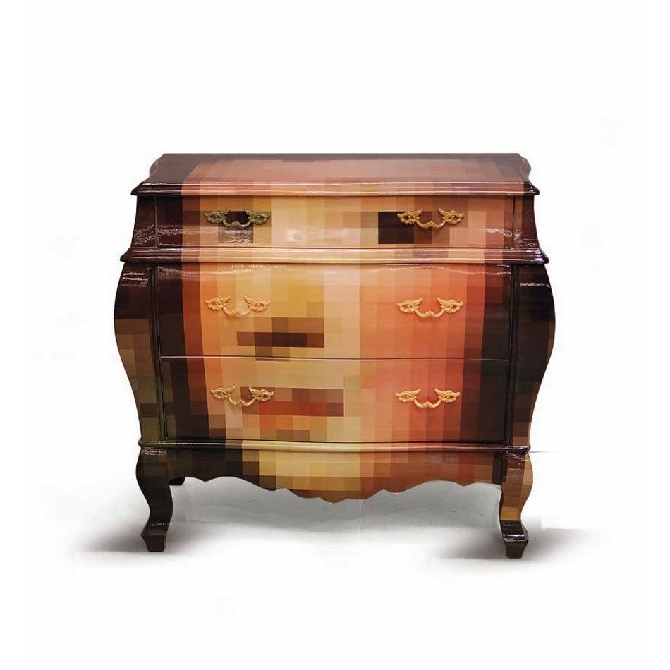 Unconventional Pixel Furniture Adding Intrigue to Modern Rooms ...