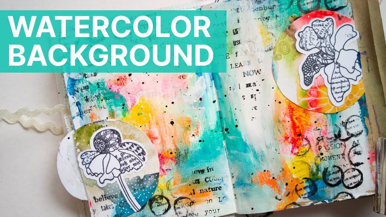 How To Make A Watercolor Art Journal