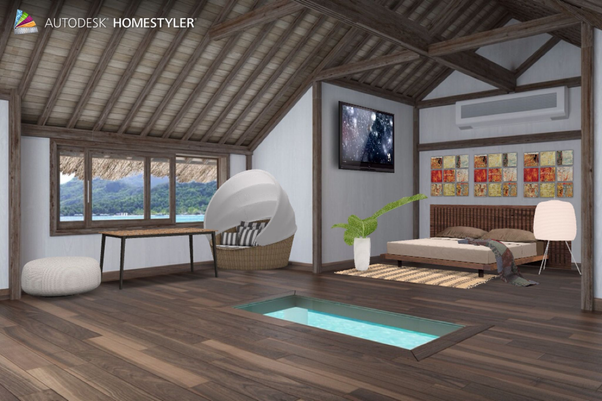 "Check out my #interiordesign ""First room"" from #Homestyler http://autode.sk/1iaewea"