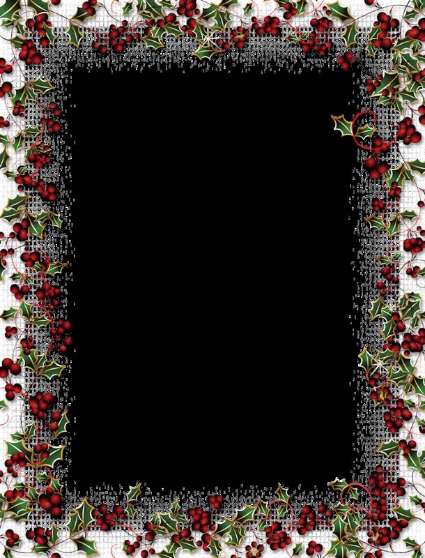 Du Houx Modele De Fleur Bordures De Page Bordures Et Cadres