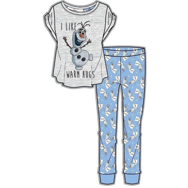 Ladies Licensed Disney Frozen Olaf Pyjamas  7f92cd54b