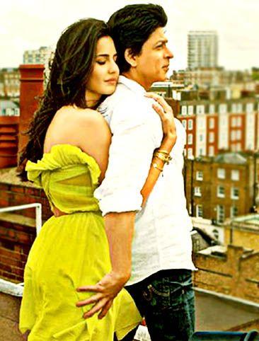 Shahrukh Khan With Katrina Kaif Shahrukh Khan Bollywood Couples Katrina Kaif Photo