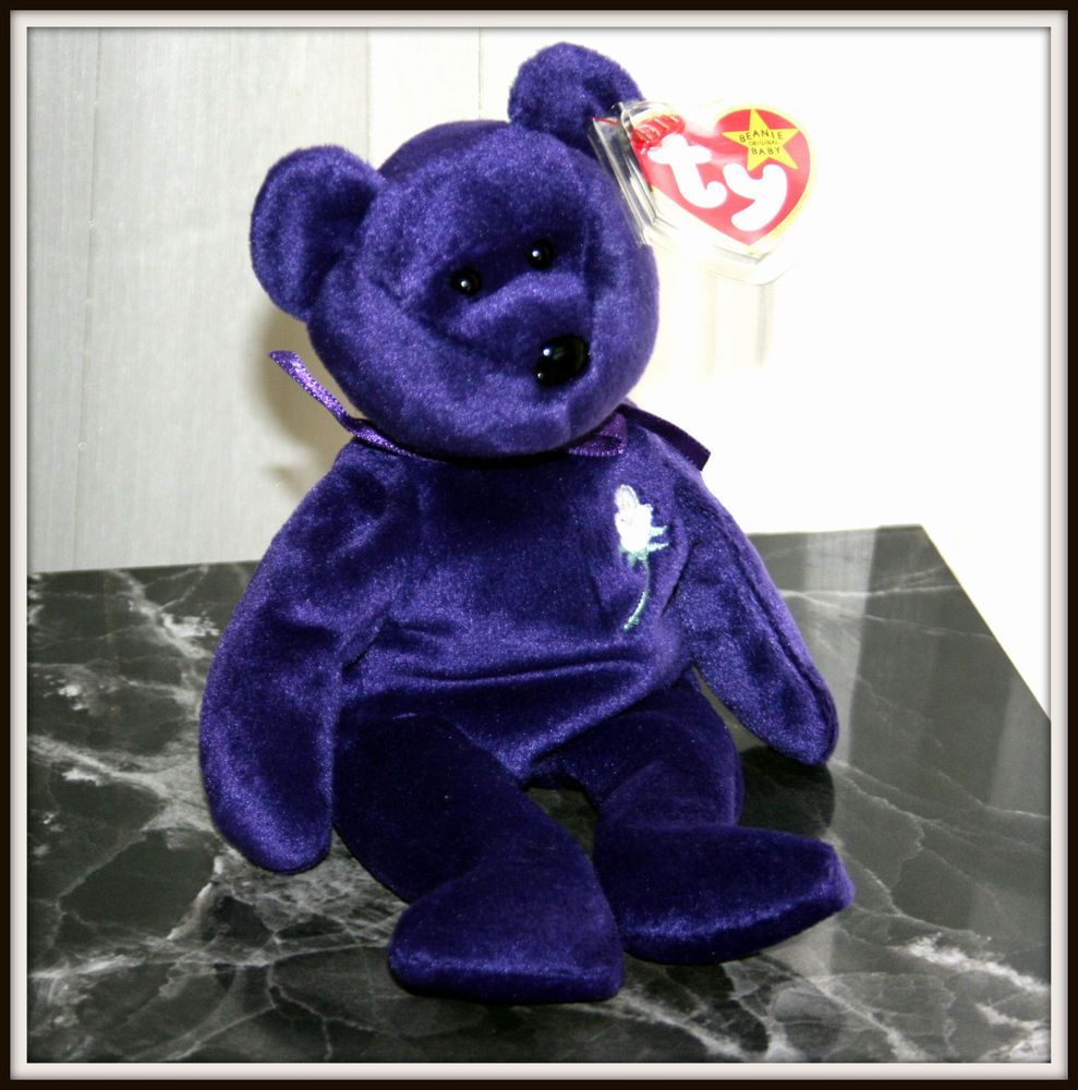 Rare 1997 Princess Diana Ty Beanie Baby 1st Edition in