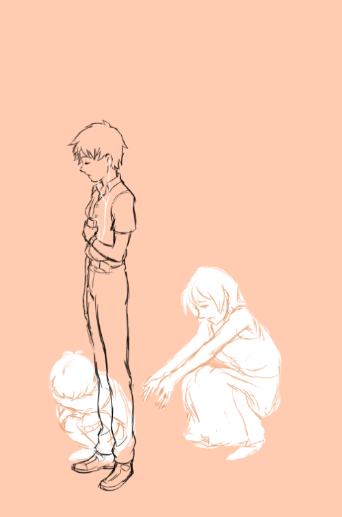 It is time for COMPLETELY RANDOM DEPRESSING EVANGELION DOODLE brought to you by me.