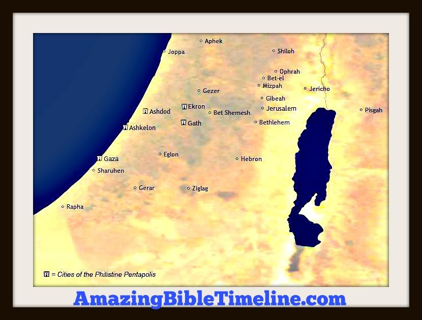 Curious about history and the Bible? Click here to learn more about Philistines Rule In Canaan http://amazingbibletimeline.com/blog/philistines-rule-in-canaan/