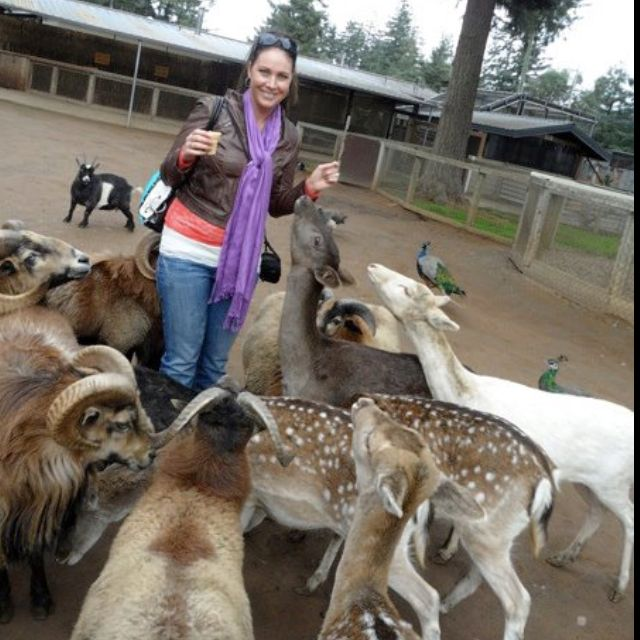 World's largest petting Zoo!!!! Best place on Earth  Bandon