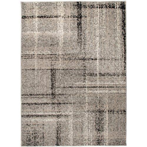 Barite Dark Grey Area Rug Metro Lane Rug Size: Rectangle 200 x 290cm