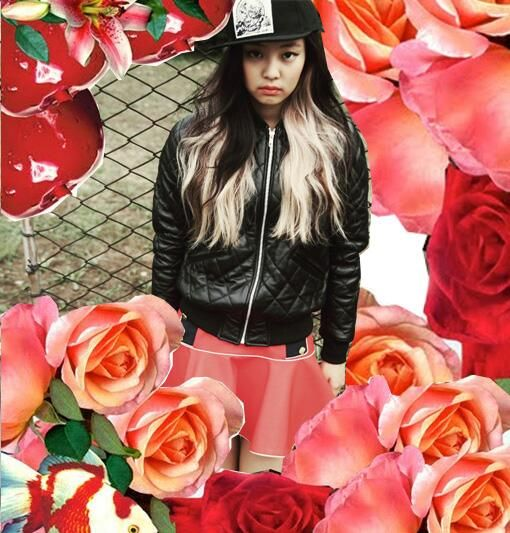 Jennie Kim Pink Punk YG Trainee