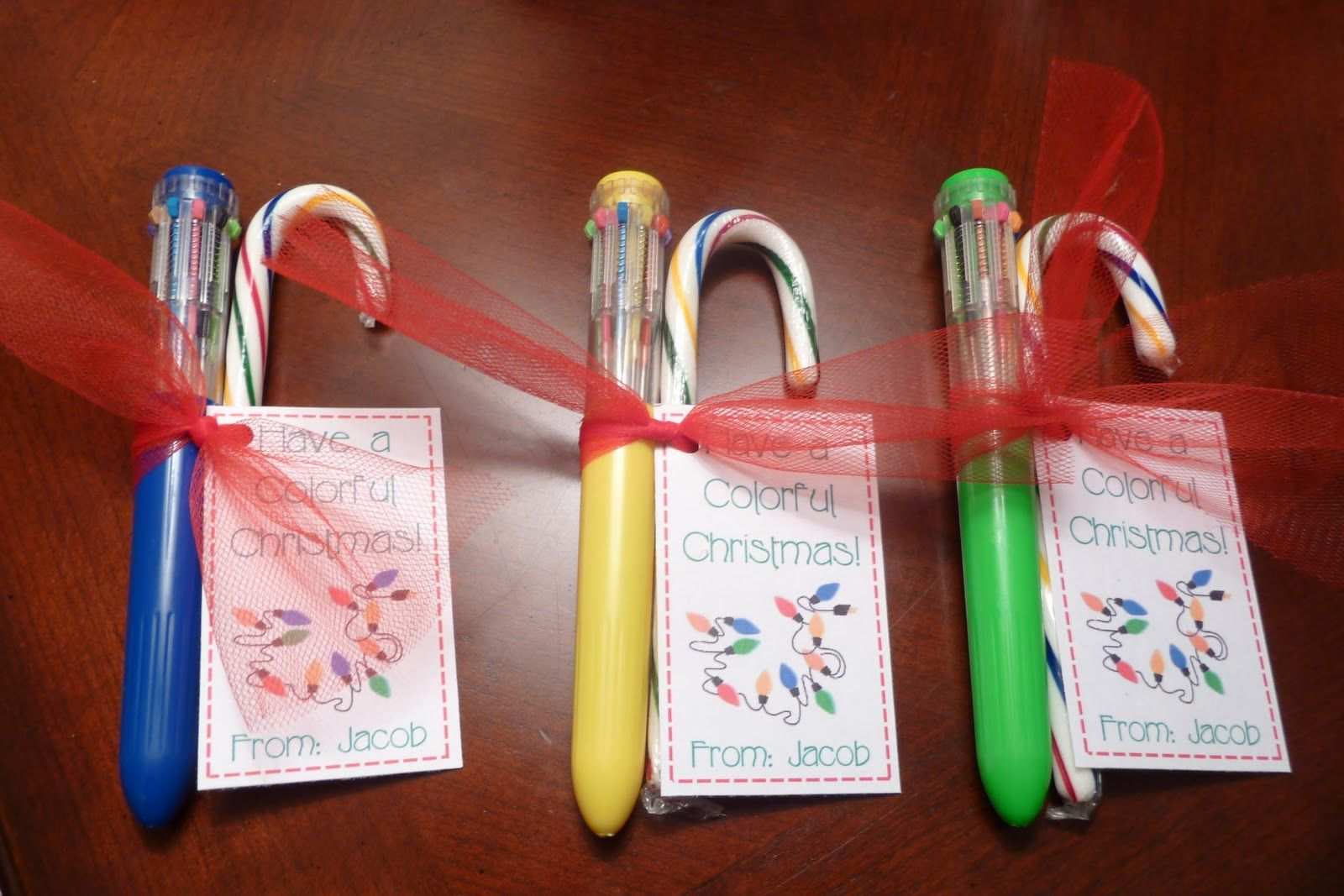 Room Mom Extraordinaire: Classmate Gifts for Christmas ...