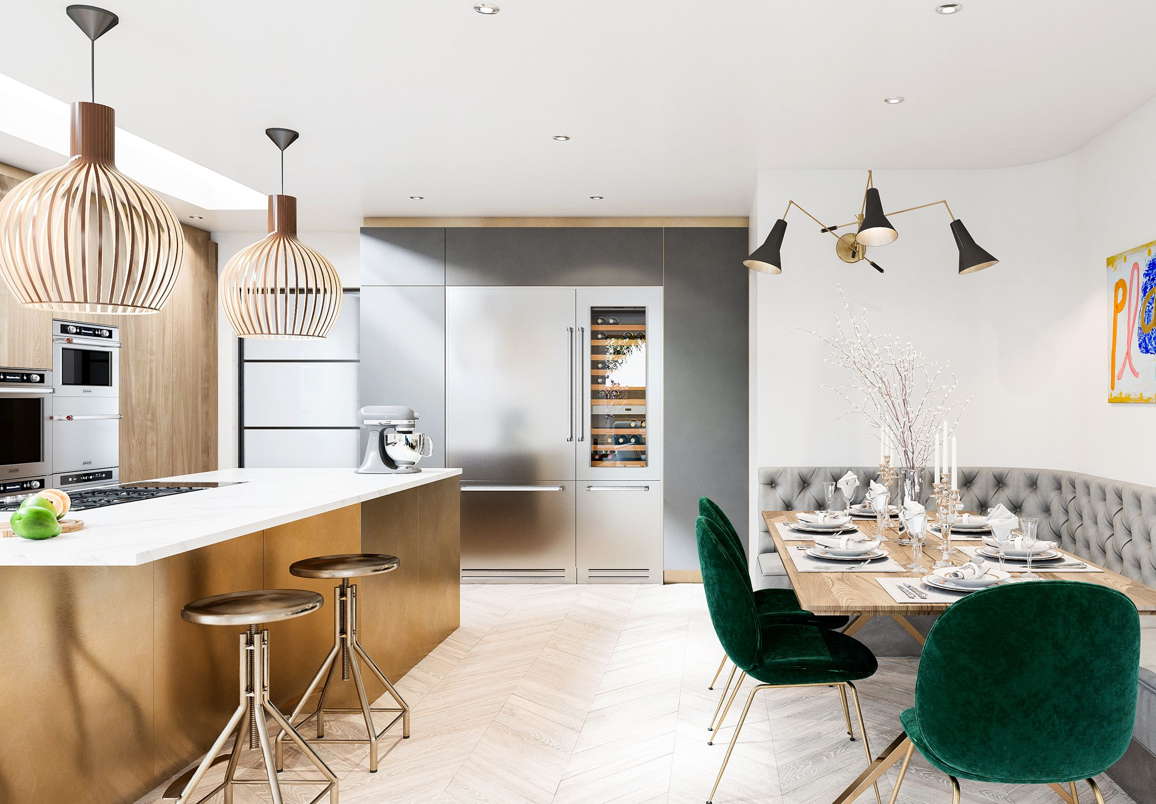 Future of kitchen: Comfort in design by Tor Interiors   Homey ...