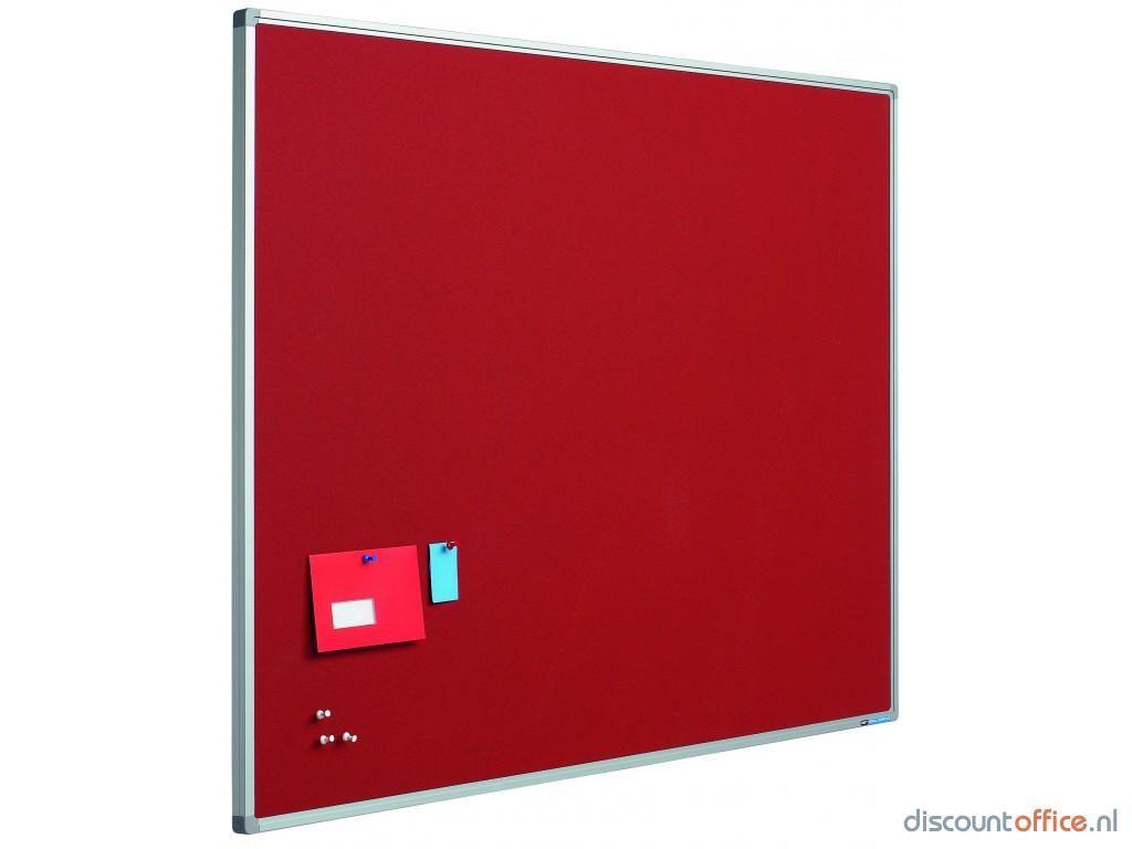 Prikbord bulletin rood cm acerforeducation olvh vv