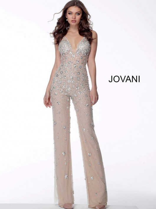 Jovani Prom 65331 in 2020   Prom jumpsuit, Embellished