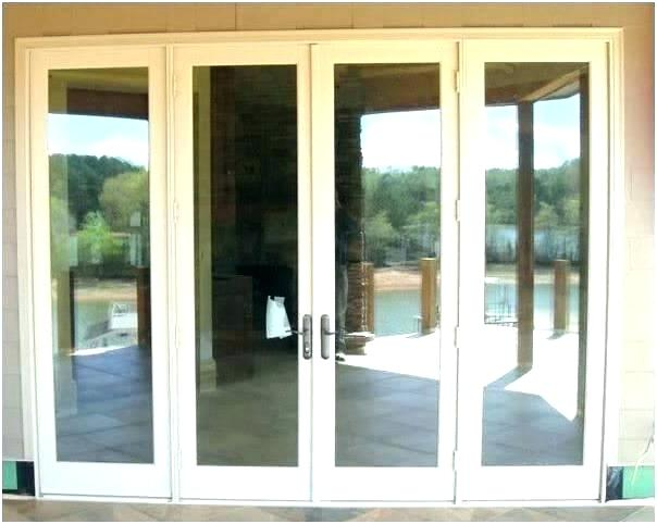 8 Foot Tall French Doors 4 Door Ft Sliding Glass Attractive Patio Brilliant Exterior Hinged Patio Doors French Doors Patio Patio Doors