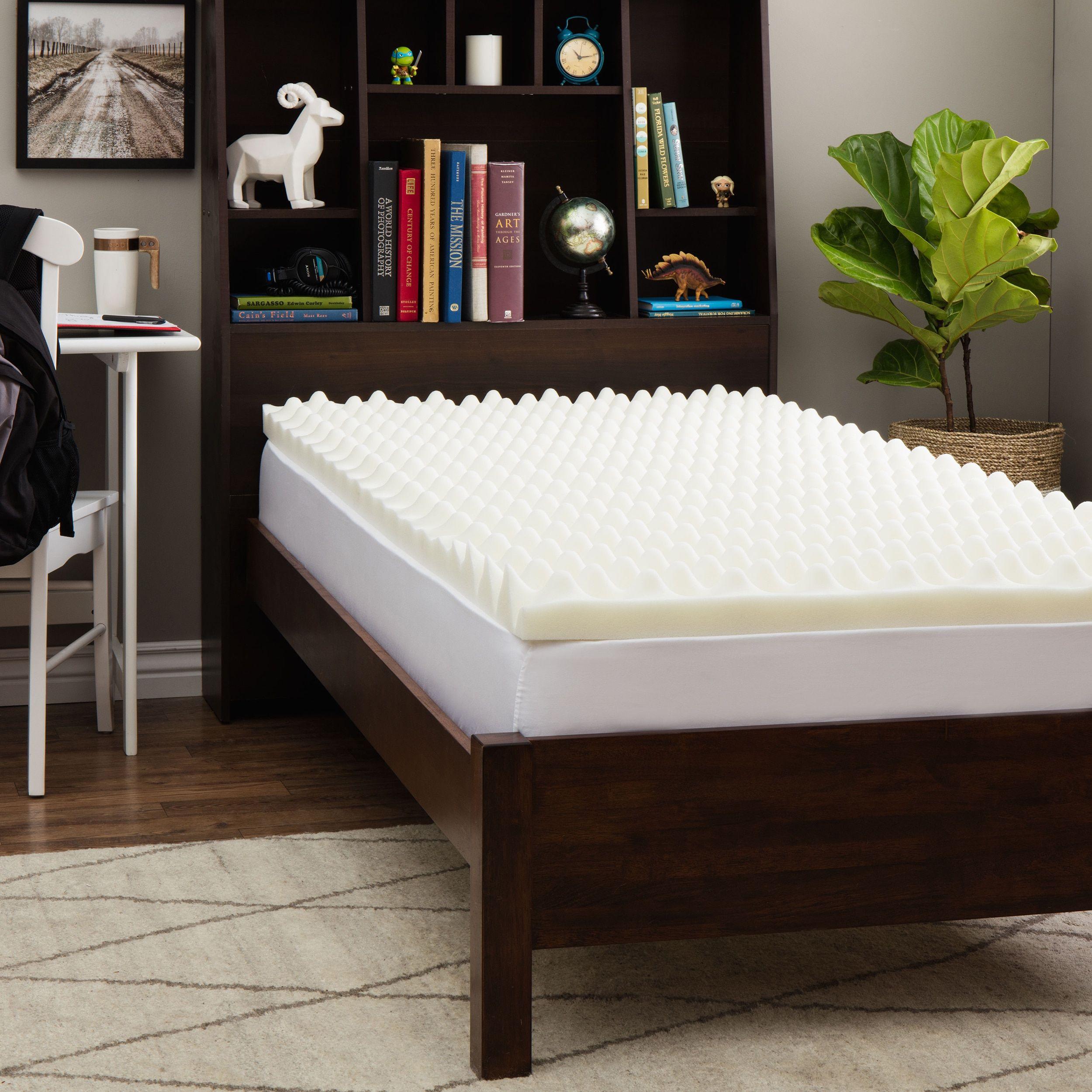 Slumber Solutions Dorm Big Bump 3inch Twin XLsize Memory