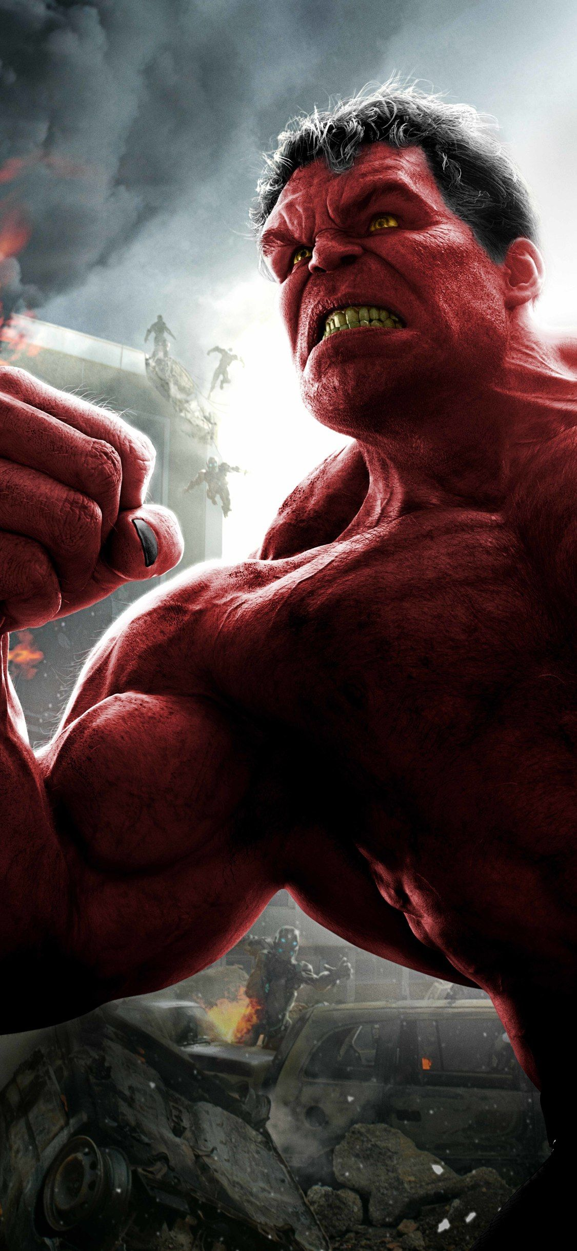 1125x2436 Red Hulk 8k Iphone Xs Iphone 10 Iphone X Hd 4k Wallpapers Images Backgrounds Photos And Pictures Red Hulk Hulk 8k Wallpaper